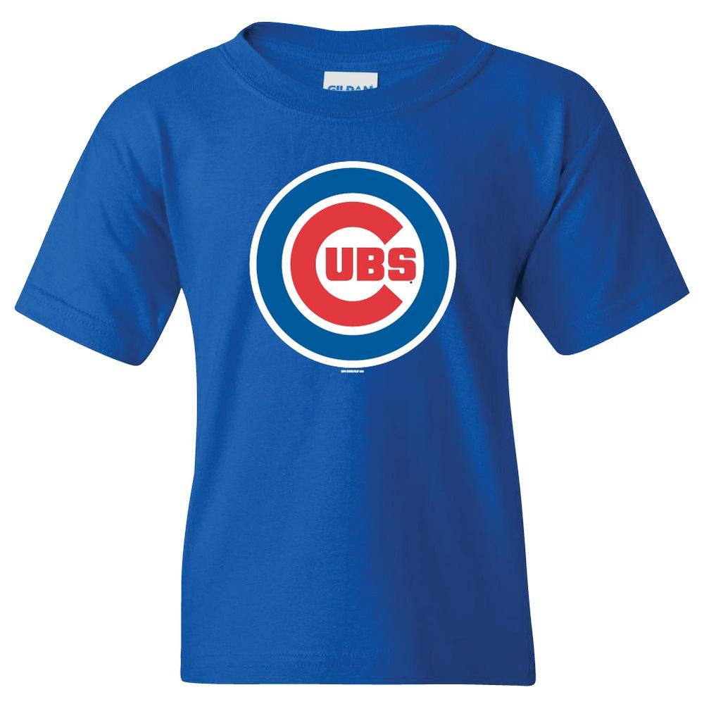 ROYAL LOGO YOUTH CHICAGO CUBS TEE - Ivy Shop