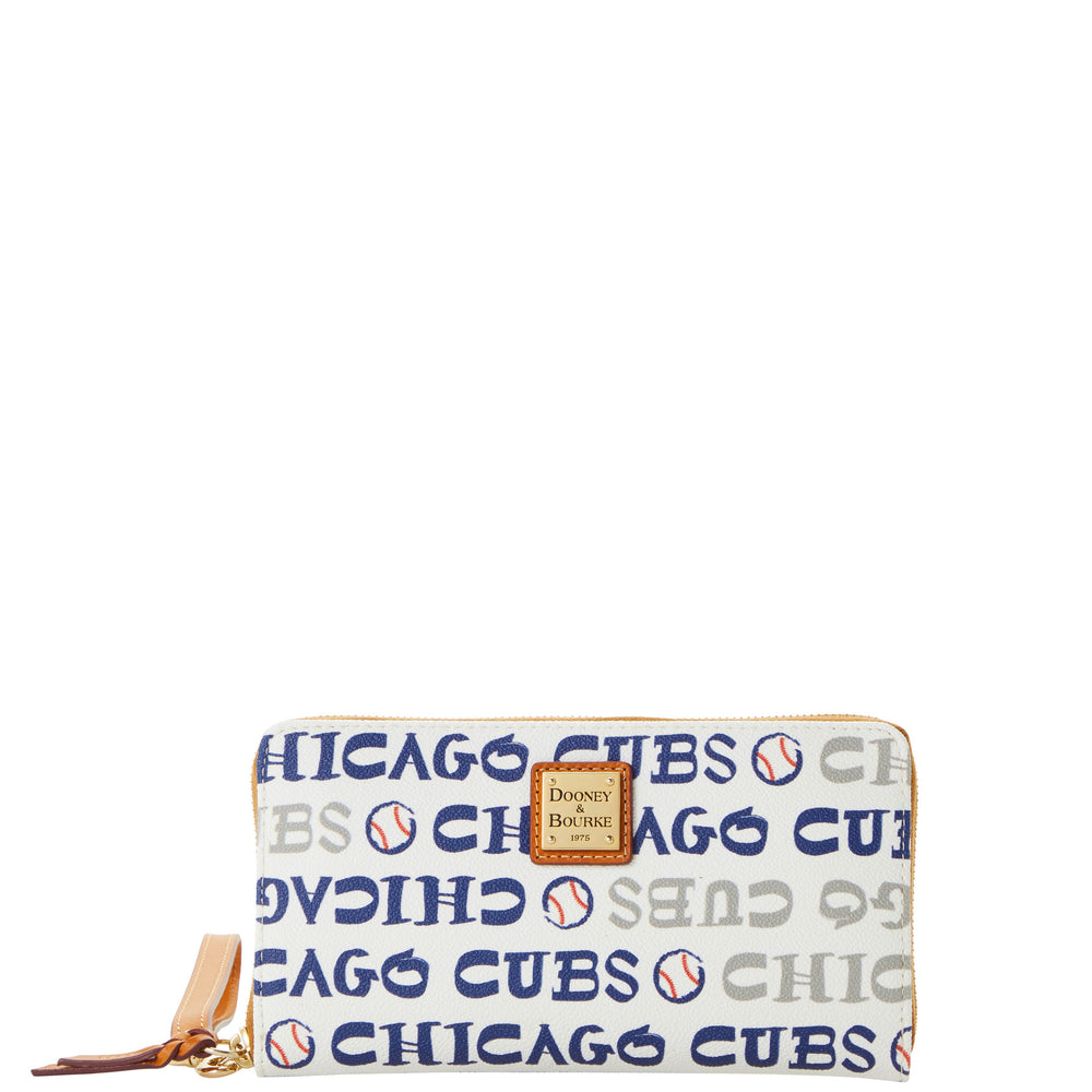DOODLE LARGE ZIP AROUND CHICAGO CUBS WRISTLET