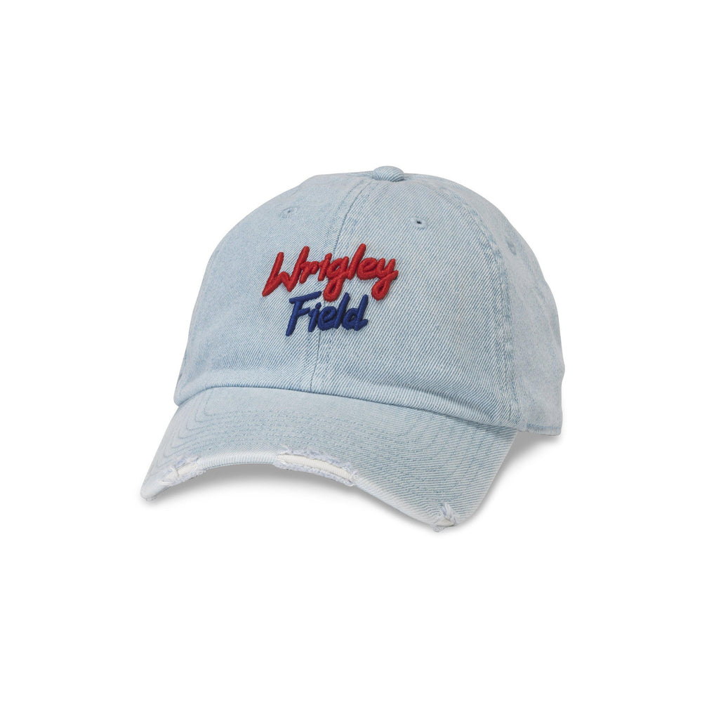 WRIGLEY FIELD DENIM ROUNDUP CAP