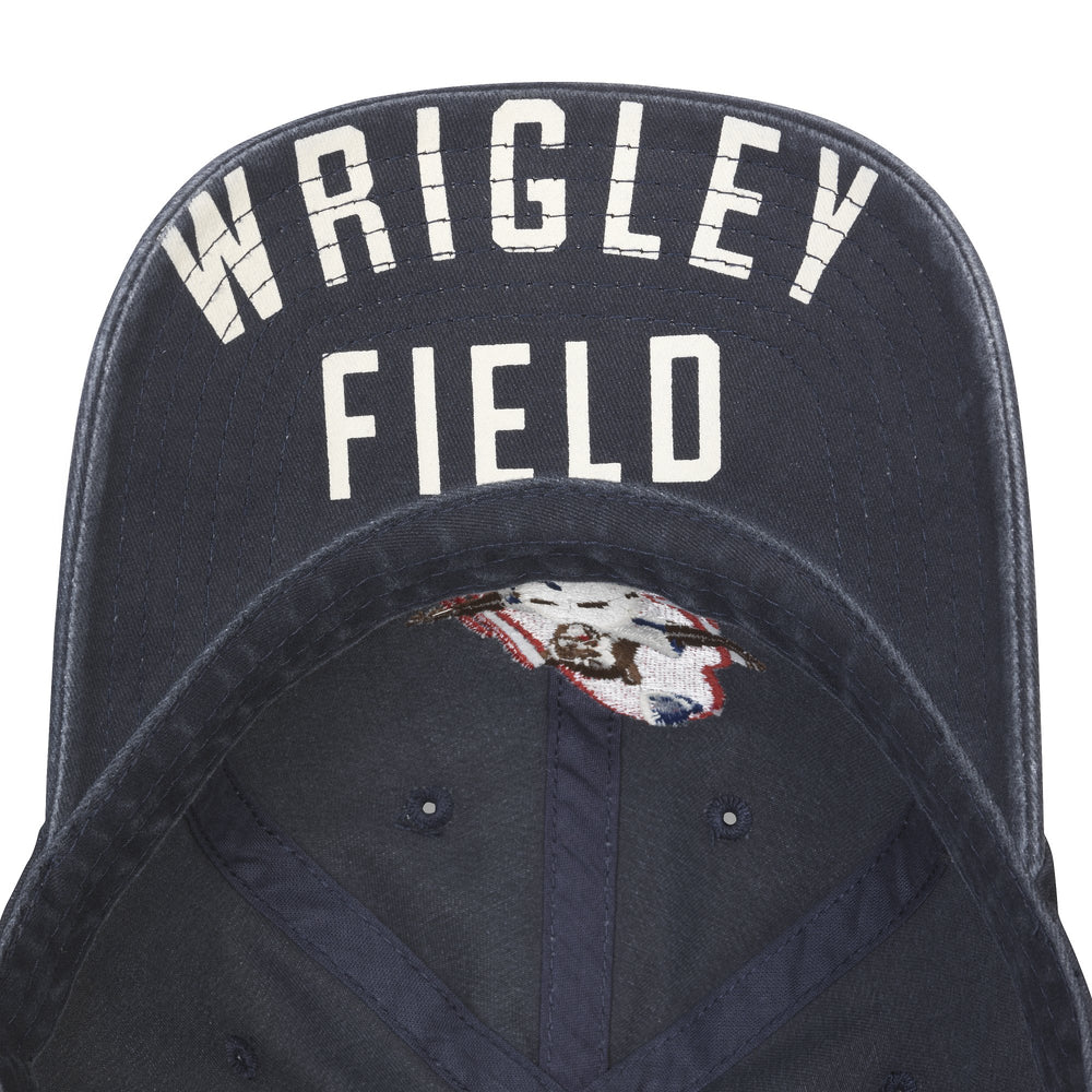 SLIDING BEAR WRIGLEY FIELD CAP - Ivy Shop