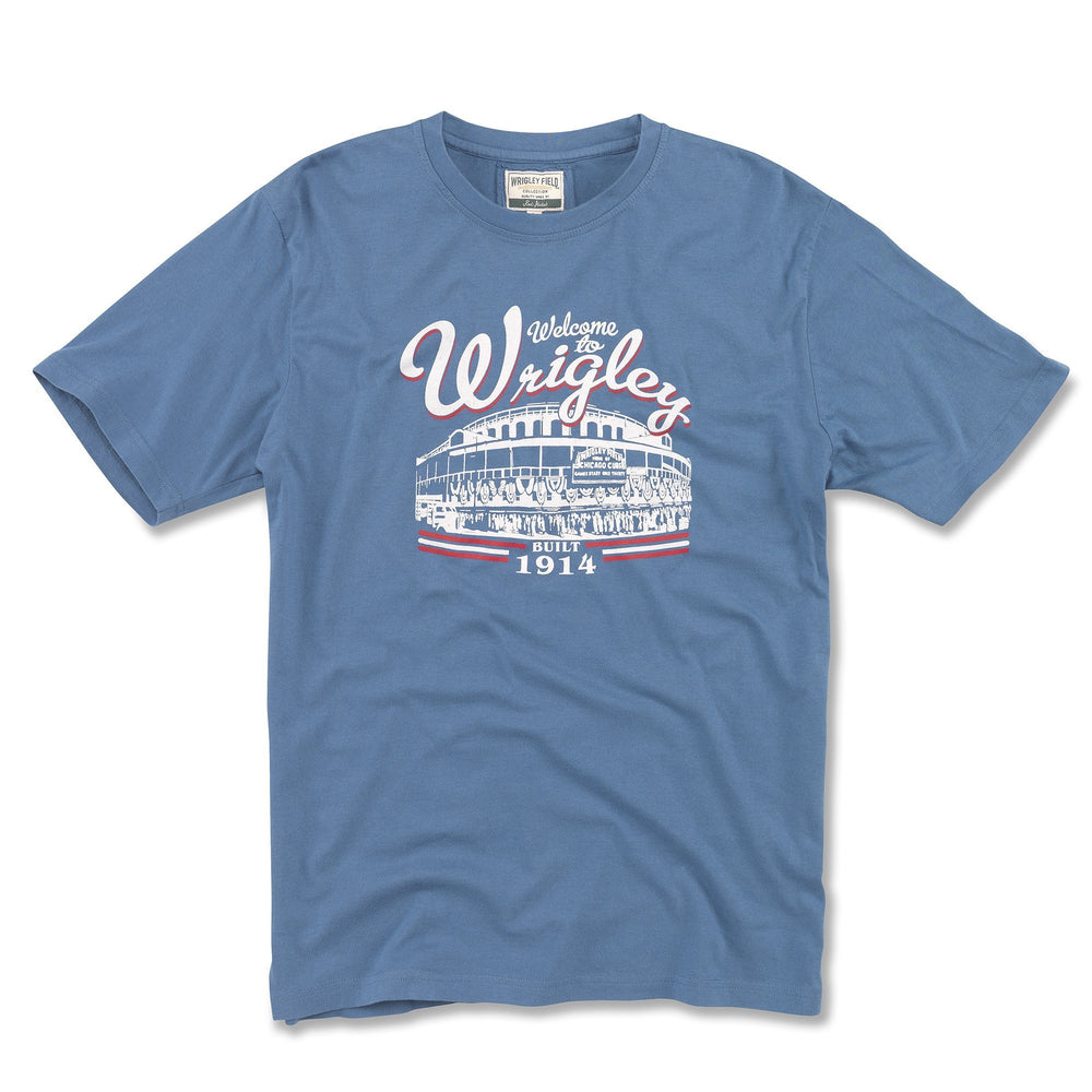 BRASS TACKS RETRO GRAPHIC WRIGLEY FIELD TEE