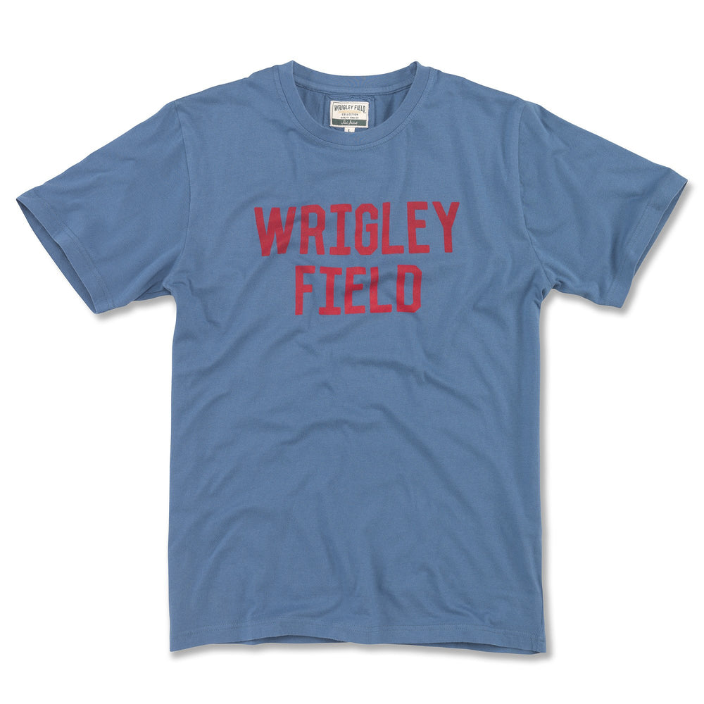 BRASS TACKS BLOCK RETRO WRIGLEY FIELD TEE