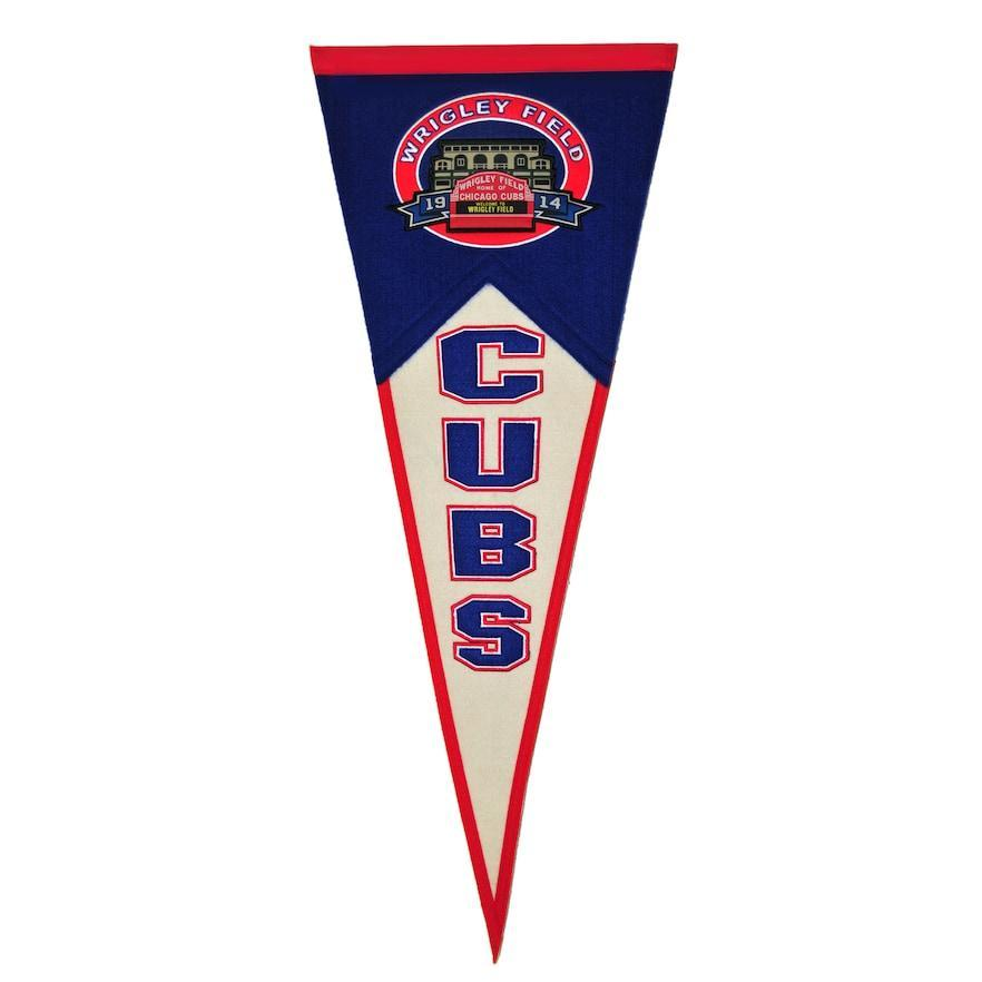 TRADITIONS WRIGLEY FIELD WOOL PENNANT