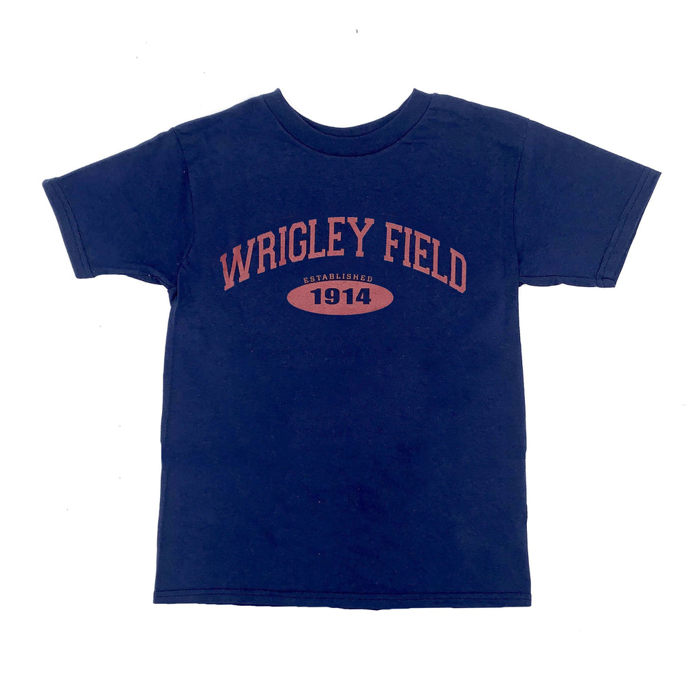 EST. 1914 RED INK WRIGLEY FIELD TEE