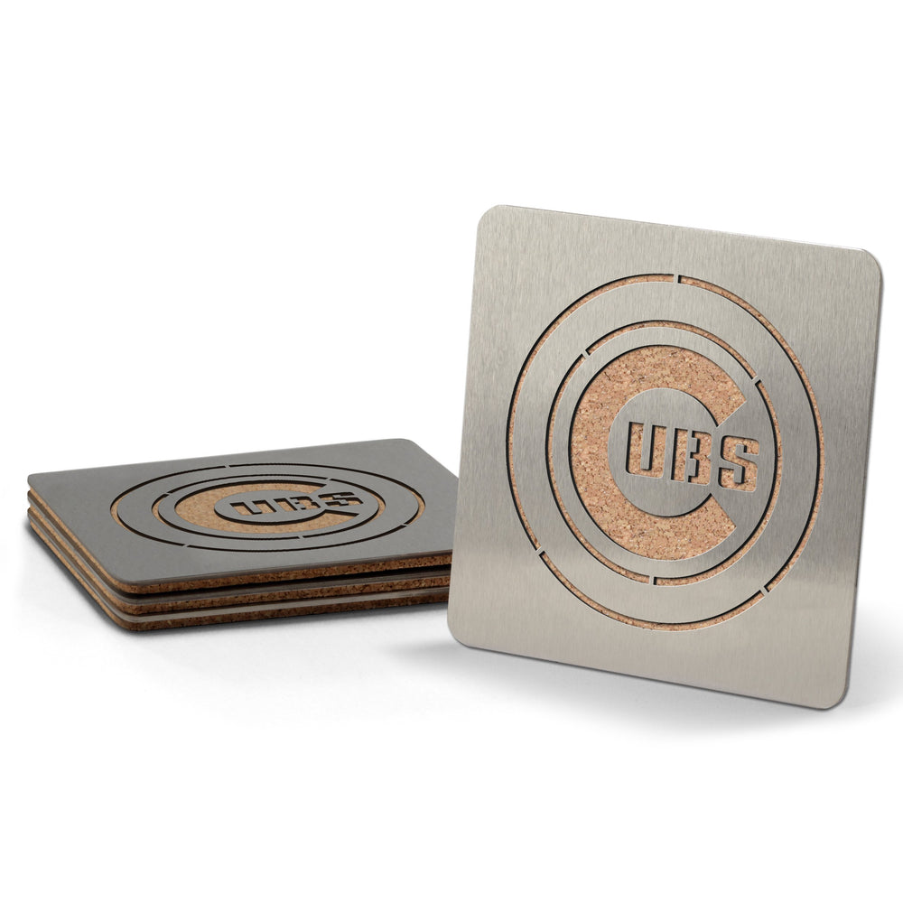 CHICAGO CUBS DRINK COASTERS - Ivy Shop
