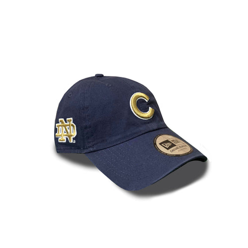 CHICAGO CUBS AND UNIVERSITY OF NOTRE DAME ADJUSTABLE CAP