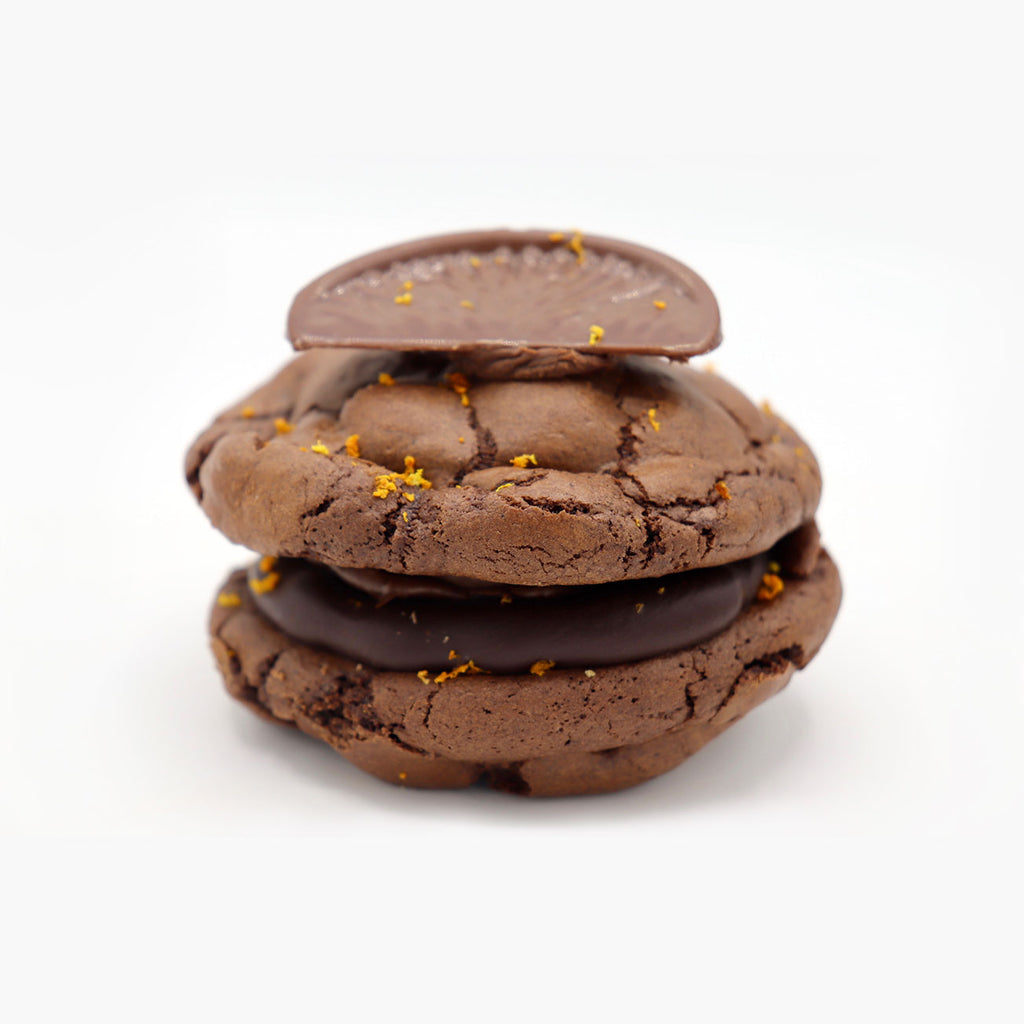 Low Gluten Chocolate Orange Cookie