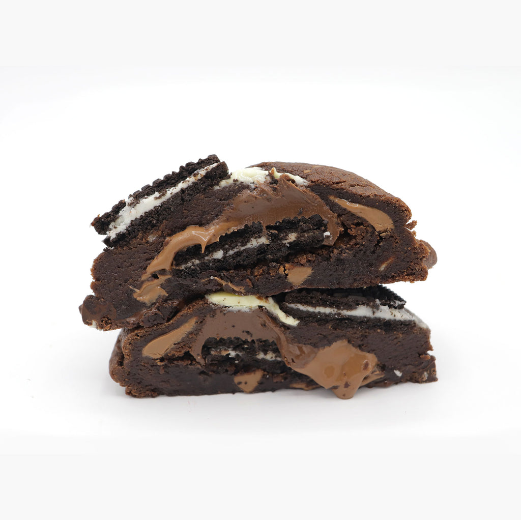 Oreo and Nutella Brookie