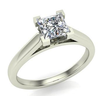 Princess Cut Engagement Rings by Glitz Design