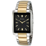 Bulova Men's 98A149 Analog Display Quartz Two Tone Watch