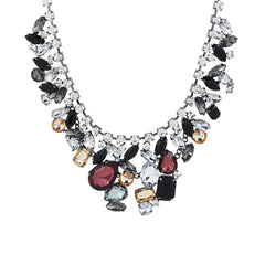 Susan Graver Jewel Statement Necklace