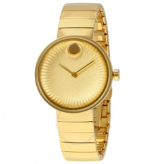 Edge Yellow Gold Aluminum Dial Ladies Watch 3680014