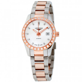 Conquest Mother Of Pearl Dial Stainless Steel Ladies Watch L22855887