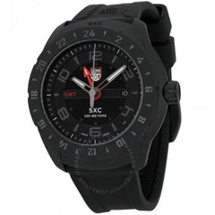 Land Black Dial Black Rubber Men's Watch A.5021