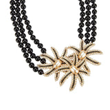 "Joan Rivers Pave' Fireworks Multi-Strand Necklace w/ 3"" Extender"