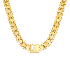 Stella Valle Logo Chain Necklace by Lori Greiner