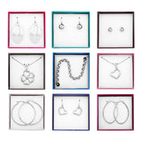 Steel by Design Set of 9 Individually Boxed Assorted Jewelry Gifts