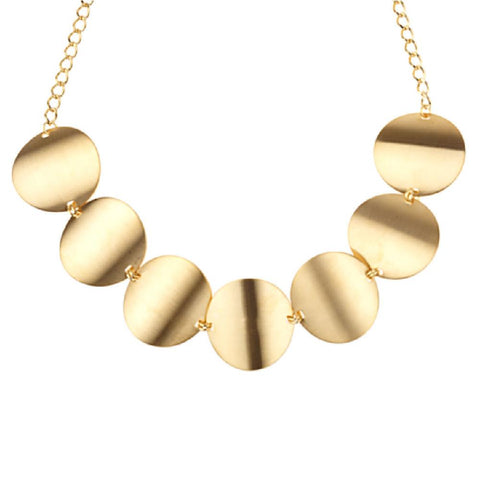 """As Is""KJL High Profile Disc Necklace"