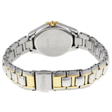 Core Solar Silver Dial Two-tone Ladies Watch
