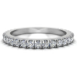 0.55 Ctw Diamond Wedding Band (G,SI) - White Gold