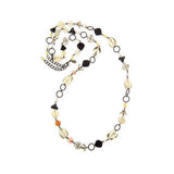 "Joan Rivers Black Magic Beaded 35"" Necklace w/3"" Extender"