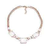 Honora Cultured Pearl Stationed Bronze Necklace