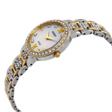 Core Solar Crystal Mother of Pearl Dial Ladies Watch