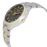 Solar Grey Dial Two-tone Men's Watch