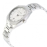 G2570 White Dial Stainless Steel Diamond Ladies Watch (YA142505)