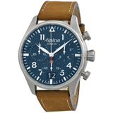 Startimer Pilot Chronograph Blue Dial Men's Watch AL-372N4FBS6