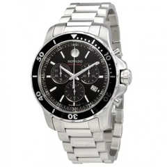 Series 800 Chronograph Black Dial Men's Watch 2600142