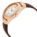 Horsebit Mother of Pearl Dial Ladies Watch (YA140507)