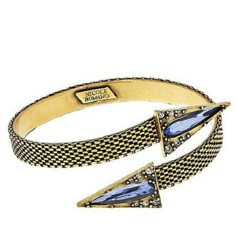 "Nicole Romano ""Elms"" Triangular Arrow Cuff Bracelet Retail"