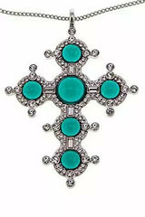 "KENNETH JAY Lane Fashion Cross 32"" Drop Necklace"