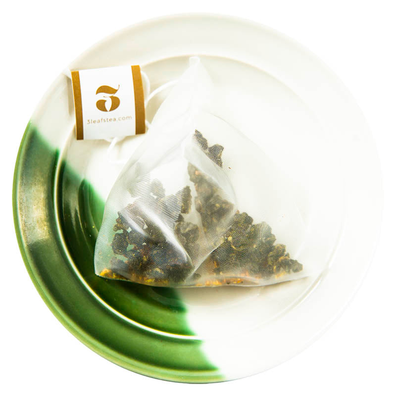 Osmanthus Flower Oolong Tea Bags