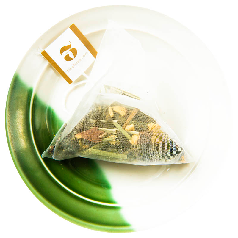 Mint Lemongrass Oolong Tea Bag