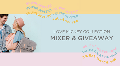 You are invited to our Mickey Mixer Event!