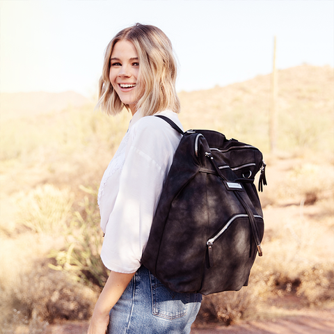 cinch backpack midnight