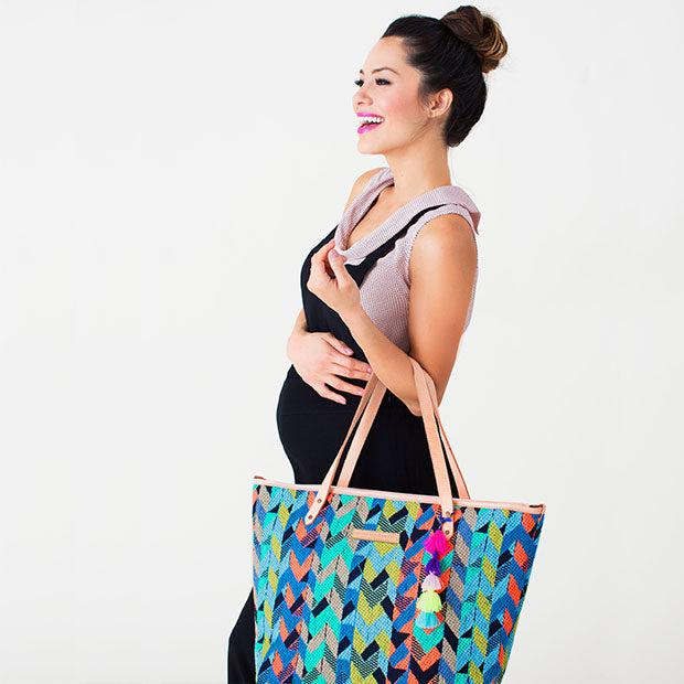 The Downtown Tote in Neon Intermix Has Arrived!