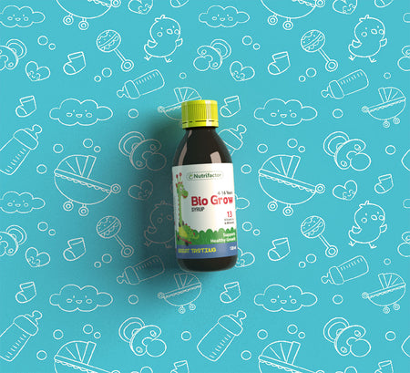 Bio Grow; A Multi-nutrient Formula for Growing Kids