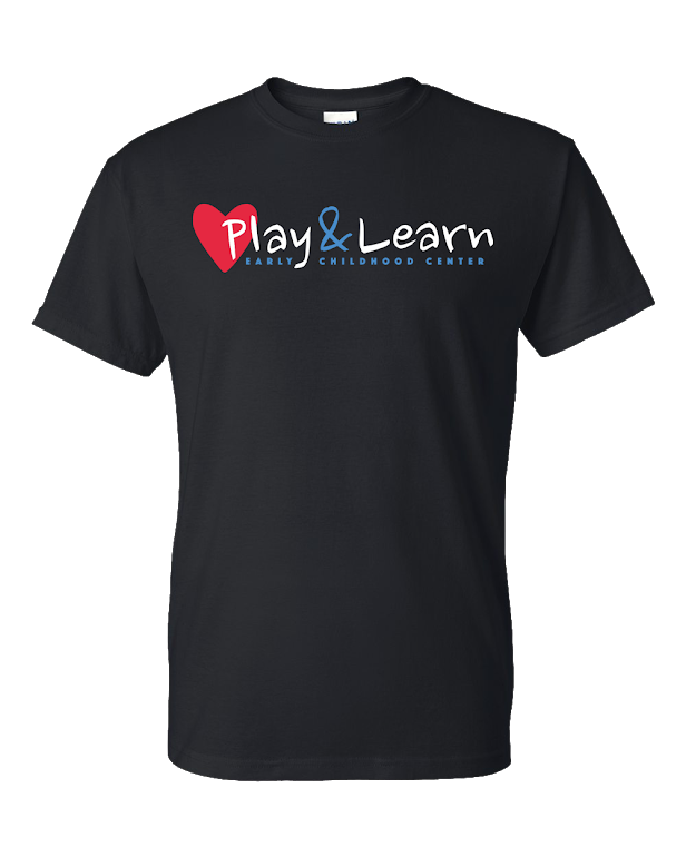 Play & Learn Large Print Youth Black 50/50
