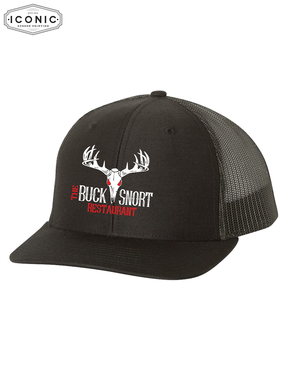The Buck Snort Restaurant - Snapback Trucker Cap