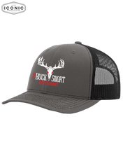 Load image into Gallery viewer, The Buck Snort Restaurant - Snapback Trucker Cap