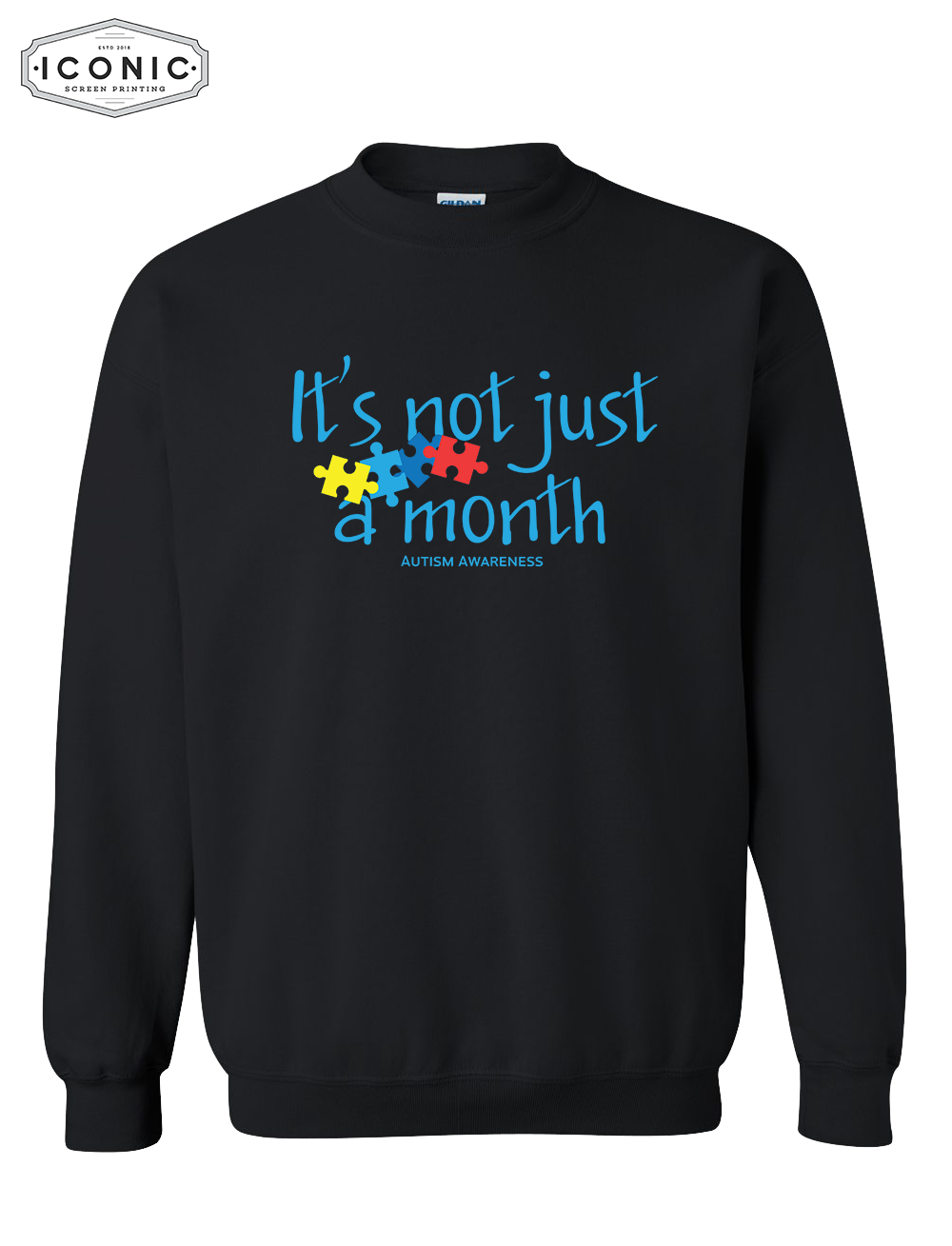 Not Just a Month - Heavy Blend Sweatshirt