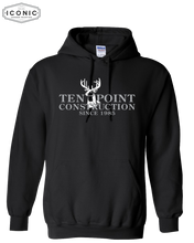 Load image into Gallery viewer, Ten Point Construction - Heavy Blend Hooded Sweatshirt