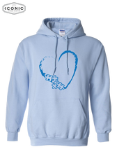 Load image into Gallery viewer, Heart Autism Awareness - Heavy Blend Hooded Sweatshirt