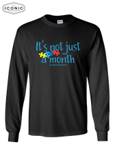 Load image into Gallery viewer, Not Just a Month - Ultra Cotton Long Sleeve