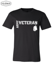 Load image into Gallery viewer, Army Veteran - Unisex Jersey Tee