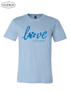 Love Autism Awareness - Unisex Jersey Tee