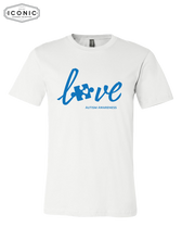 Load image into Gallery viewer, Love Autism Awareness - Unisex Jersey Tee